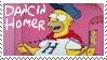 Dancin Homer Simpson Stamp 2 by dA--bogeyman