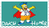 Dancin Homer Simpson Stamp 1 by dA--bogeyman