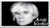 Andy Warhol Stamp 2 by dA--bogeyman