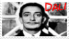 Salvador Dali Stamp 2 by dA--bogeyman