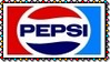 Old School Pepsi Logo Stamp by dA--bogeyman