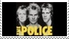The Police New Wave Stamp