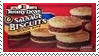 Sausage Biscuits Stamp by dA--bogeyman