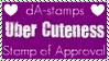 Uber Cuteness Exclusive Stamp by dA--bogeyman