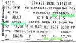 Genesis Concert 3-1-87