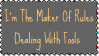 Maker Of Rules Stamp by dA--bogeyman
