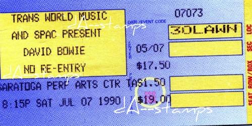 David Bowie Concert 7-7-90 by dA--bogeyman