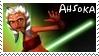 Clone Wars Ahsoka Tano Stamp by dA--bogeyman