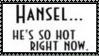Hansel Is So Hot Stamp by dA--bogeyman