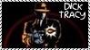 Dick Tracy - Tommy Gun Stamp by dA--bogeyman