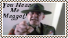 You Hear Me Maggot Stamp by dA--bogeyman