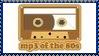 MP3 Of The 80's Stamp by dA--bogeyman