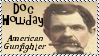 Doc Holliday Gunfighter Stamp by dA--bogeyman