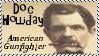 Doc Holliday Gunfighter Stamp by dA--bogeyman