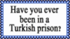 Turkish Prison Stamp by dA--bogeyman