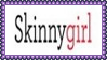 Skinny Girl Stamp by dA--bogeyman