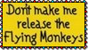 Release Flying Monkeys Stamp by dA--bogeyman