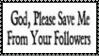 Please Save Me God Stamp by dA--bogeyman