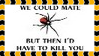 Black Widow Mate + Kill Stamp by dA--bogeyman