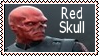 The Red Skull Stamp 1 by dA--bogeyman