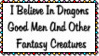 I Believe In Dragons Stamp