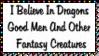I Believe In Dragons Stamp by dA--bogeyman