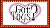 Got Toys? Stamp by dA--bogeyman