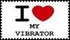 I Love My Vibrator Stamp by dA--bogeyman