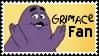 McDonaldland Grimace Stamp by dA--bogeyman