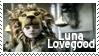 Luna Lovegood Lion Hat Stamp by dA--bogeyman