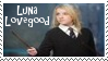 Luna Lovegood With Wand Stamp