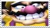 Nintendo Evil Grin Wario Stamp by dA--bogeyman