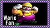 Nintendo Wario Fan Stamp by dA--bogeyman