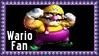 Nintendo Wario Fan Stamp by dA--bogeyman