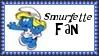 Smurfette Smurf Fan Stamp by dA--bogeyman