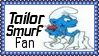 Tailor Smurf Fan Stamp by dA--bogeyman