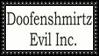 Doofenshmirtz Evil Logo Stamp by dA--bogeyman
