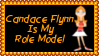 Candace Flynn Role Model Stamp by dA--bogeyman