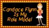 Candace Flynn Role Model Stamp by dA--bogeyman
