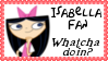 Isabella Fan Stamp by dA--bogeyman