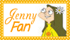 Phineas + Ferb Jenny Fan Stamp by dA--bogeyman
