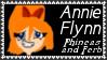 Phineas+Ferb Annie Flynn Stamp by dA--bogeyman