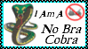 No Bra Cobra Stamp by dA--bogeyman