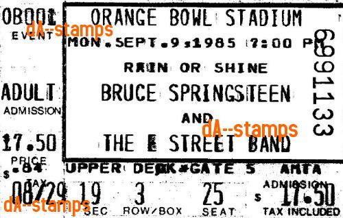 Bruce Springsteen Concert 9-9-85 by dA--bogeyman