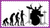 Rock Star Evolution Stamp by dA--bogeyman