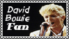 David Bowie Fan Stamp by dA--bogeyman