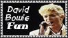 David Bowie Fan Stamp by dA--bogeyman