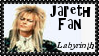 Goblin King Jareth Fan Stamp