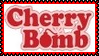 Cherry Bomb Stamp by dA--bogeyman
