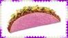 Pink Taco Stamp by dA--bogeyman